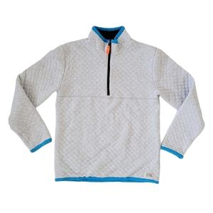 Crewcuts Quilted Reversible 1/2 Zip Pullover